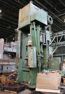 500 Ton Verson Straight Side Single Crank Press Model E-s1-500-sp Stock 5002