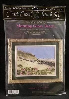 Cross My Heart Classic Cross Stitch Kit Morning Glory Beach New