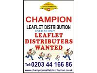 Leaflet Distributor Wanted