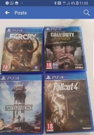 Selling fallout 4 cod ww2 star wars battlefront far cry primal. For ps4 45 ono