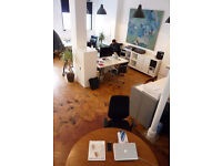 Large and Desk Space - Creative Studio Building - London Fields - Hackney