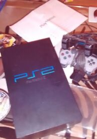 Sony PlayStation 2 with 16 games