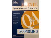A level Letts Q & A Economics