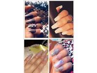 Acrylic nails models needed !!