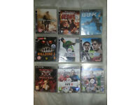 9 x Ps3 Games,£2.50 Each or All 9 For £15 No Offers reduced already.