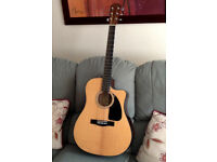 FENDER electro-acoustic guitar ABSOLUTELY IMMACULATE as new an a LESS THAN HALF BRICE BARGAIN