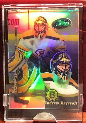 2003 Andrew Raycroft Etopps Hockey /1500 Boston Bruins