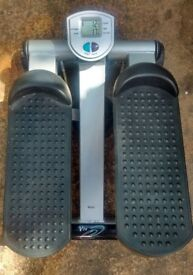 V-Fit Stepper with battery operated electronic counter - steps/calorie/time. Adjustable resistance