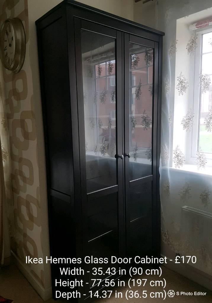 Ikea Hemnes Glass Door Cabinet Images Doors Design Modern