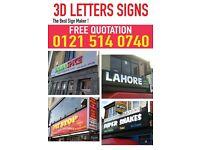 Shop Front Sign/3D Letters / Light Box / Sign Board