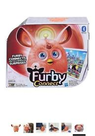 Orange Furby Connect Interactive Pet