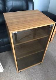 #Taking Offers# need gone- Lovely cabinet unit smoked glass front