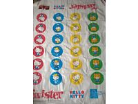 Large Hello Kitty Twister - ideal for inside or garden - rolls up into carry tube!