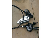 Shimano XT front shifter 2 x system