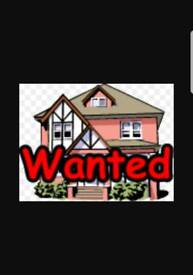 4/5 bedroom property wanted long term ONLY