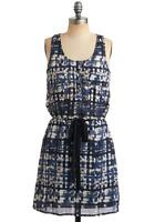 Modcloth Time to Reflect Dress Never Worn- Brand New