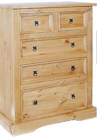 3 Drawer 2 Drawer chest