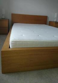 Idea euro double Hyllestad mattress. Plus free ikea malm bed frame if wanted