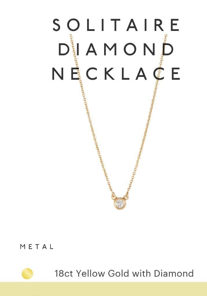 1940202eeabc3 Brand new Diamond necklace from TADA & TOY | in Highbury, London | Gumtree