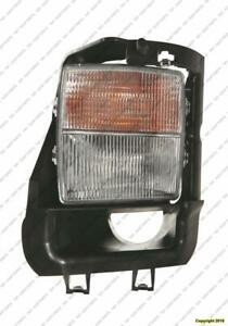 Signal Lamp With Fog Driver Side (Sts-V) High Quality Cadillac STS 2006-2009