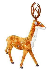 Red Nose Rudolph Emulate Elk for Christmas 212069