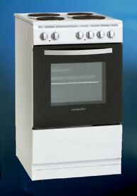 GRADED 'MONTPELLIER' ELECTRIC COOKER - 1 YEAR WARRANTY - MSE49W - £180