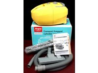 REFURBISHED ARGOS VALUE RANGE COMPACT BAGGED CYLINDER VACCUM CLEANER 1400W VC-05