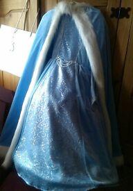 Beautiful dress & cape age 5-6