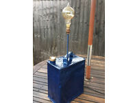 Vintage 1938 Esso Petrol Can / Table Lamp Conversion