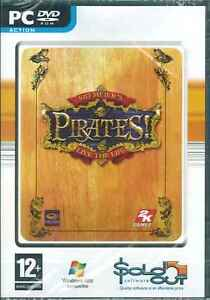 Sid Meier's, Pirates, Live the Life, PC Sim Game, Simulation, XP, Vista, 7, NEW