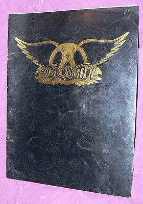 Aerosmith concert program c.1977