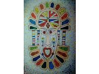 African mask by A.O. Drummer£35