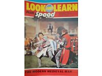 Vintage 1970's 'Look and Learn' magazine edition number 807.