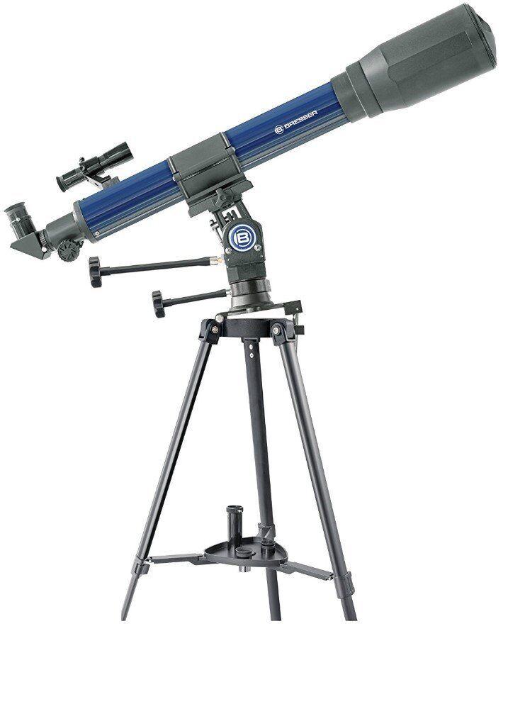 NEW Bresser SkyLux Jupiter 70/700 35x-525x Refractor Telescope (Whitleigh)