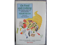 Calling all foodies! ON FOOD AND COOKING (hardback) by Harold McGee