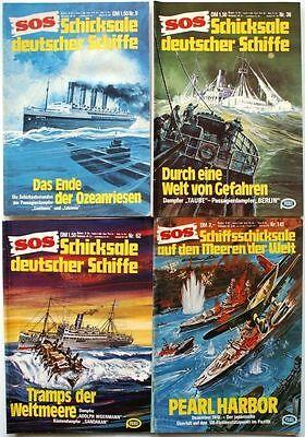 SOS Schicksale deutscher Schiffe Band 9 36 62 141 in Z2-3 und Z3