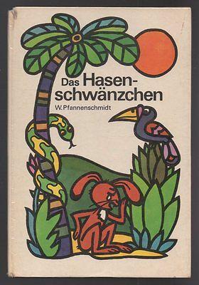 Das Hasenschwänzchen – Wolfgang Pfannenschmidt & Inge Gürtzig  DDR Bilderbuch