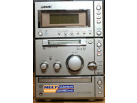 Sony CD / Mini Disc Stereo and Speakers