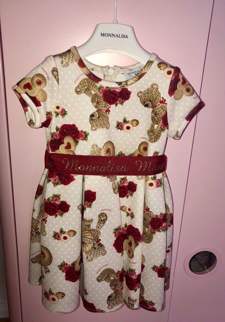 143c964ac Baby Girls Stunning Monnalisa Dress   in East End, Glasgow   Gumtree
