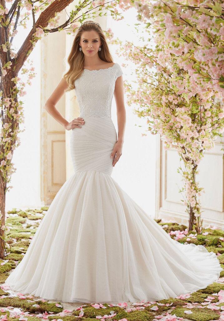 Morilee Bridal Madeline Gardner Extravagant Soft Net Wedding Dress Skirt #6842