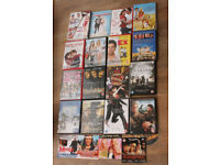 17 DVDS & 3 DOUBLE DVDs