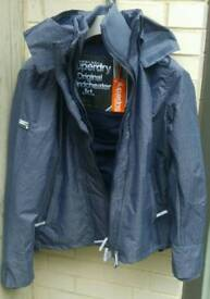 Superdry jacket size medium brand New