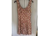 Topshop 'We are Cow' Vintage dress with tags, small