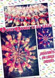 Party sweet cones