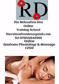 Anatomy Physiology & Massage Course