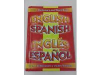 Spanish Dictionary, childrens