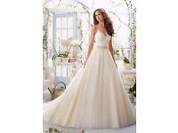 Mori Lee by Blu Madeline Gardner Wedding Dress 8 5416