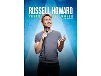 Russell Howard - Round the World Tickets