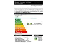 Commercial EPC for retail shops,markets, restaurants, garage,warehouse