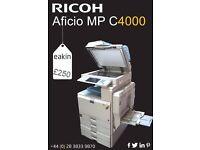 Office Richo Aficio MP C4000 All-in-One Printer! Amazing Bargain!